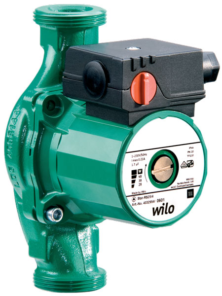 WILO. WILO Star RS 25/2